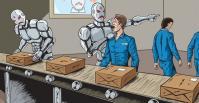 Robot et humain